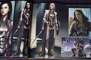Thor Concept Art - Sif 013