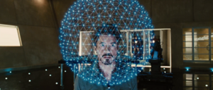 Tony Stark's New Element Atomic Structure