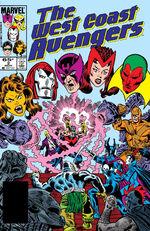 West Coast Avengers Vol 2 2