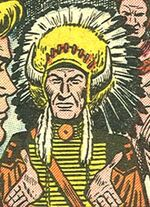 White Cloud (Earth-616) from Kid Colt Outlaw Vol 1 37 0001