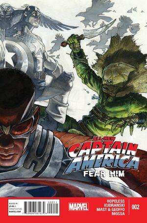 All-New Captain America Fear Him Vol 1 2