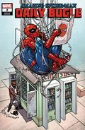 Amazing Spider-Man Daily Bugle Vol 1 2 Ferry Variant