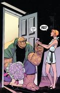 Benjamin Grimm (Earth-616) and Alicia Masters (Earth-616) from Fantastic Four Vol 6 1 001
