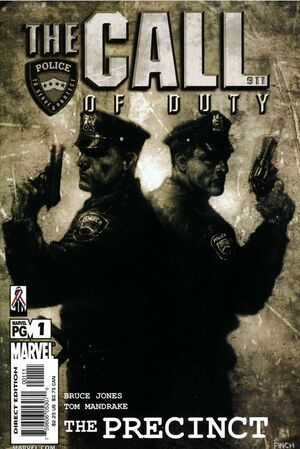 Call of Duty The Precinct Vol 1 1