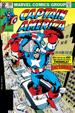 Captain America Vol 1 262