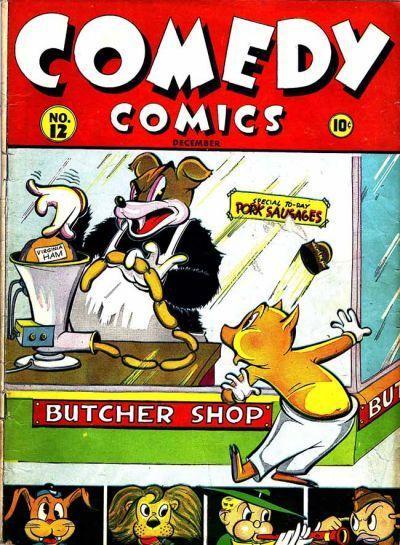 Comedy Comics Vol 1 12