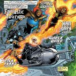 Fantastic Four (2099) (Earth-8101) from Marvel Apes Vol 1 4 001