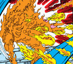 Fire (Elementals) (Earth-616) from Fantastic Four Vol 1 232 001