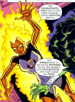 Frankie Raye (Earth-200782) from Marvel Adventures Fantastic Four Vol 1 25 0001
