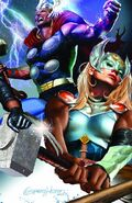 Generations The Unworthy Thor & The Mighty Thor Vol 1 1 Unknown Comic Books Exclusive Variant B