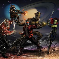 Guardians of the Galaxy (Earth-12131) from Marvel Avengers Alliance 001