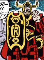 Heimdall (Earth-77013) Spider-Man Newspaper Strips