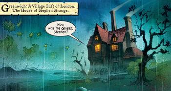 House of Stephen Strange (Earth-311) from Marvel 1602 Vol 1 1 0001