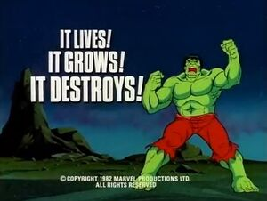 Incredible Hulk (1982 animated series) Season 1 8 Screenshot