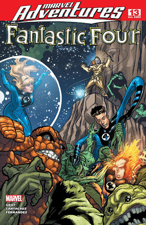 Marvel Adventures Fantastic Four Vol 1 13