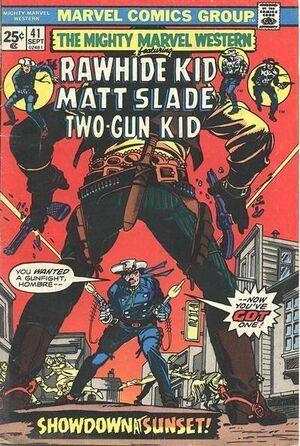 Mighty Marvel Western Vol 1 41