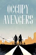 Occupy Avengers Vol 1 2 Shalvey Variant Textless