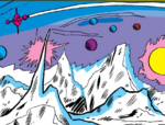 Pluto (Planet) from Avengers Vol 1 14 001