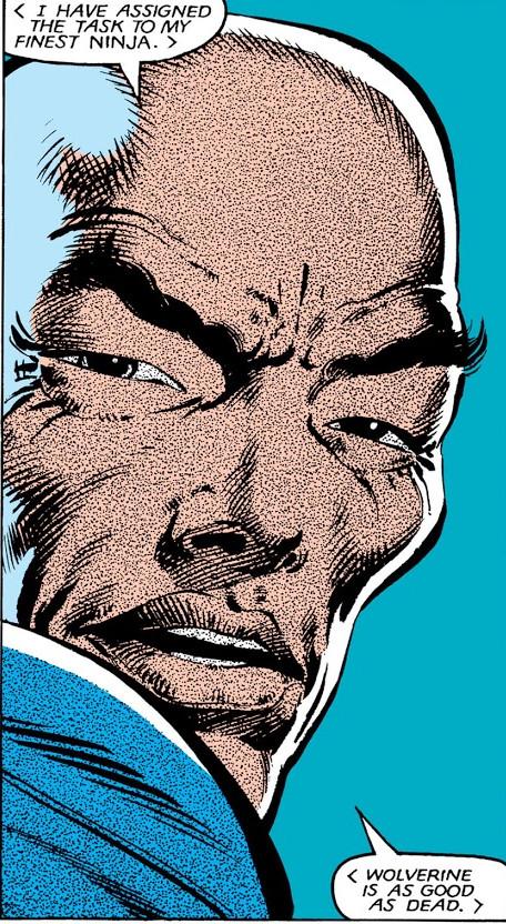 Shingen Harada (Earth-616) from Wolverine Vol 1 4 0001