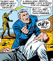 Thaddeus Ross (Earth-616) and Richard Jones (Earth-616) from Tales to Astonish Vol 1 100 001