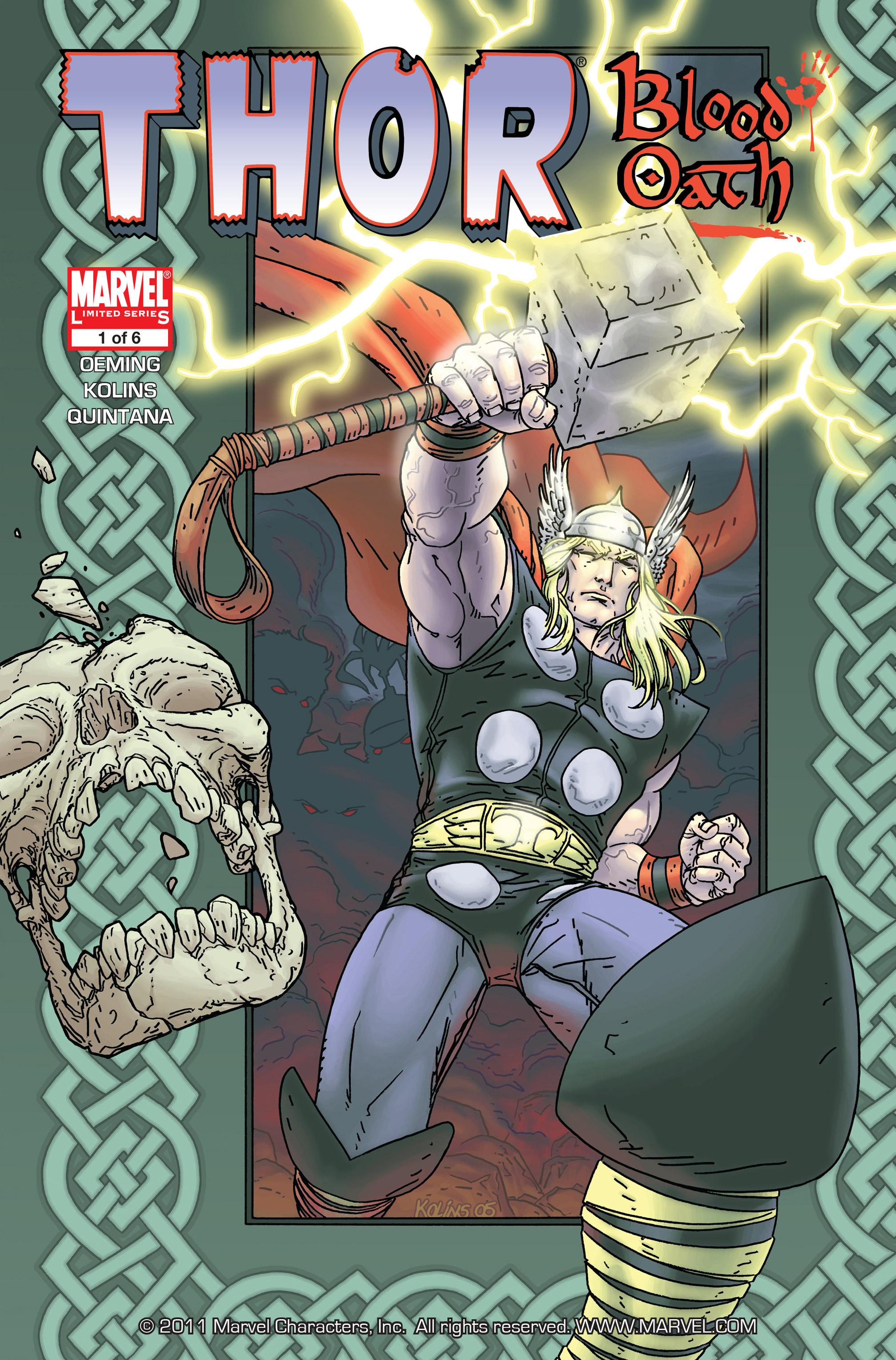 Thor Blood Oath Vol 1 1