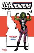 U.S.Avengers Vol 1 1 Idaho Variant