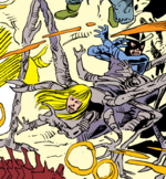 Alexander Summers (Masque's Doppelganger) (Earth-616) and Illyana Rasputina (Masque's Doppelganger) (Earth-616) from Uncanny X-Men Vol 1 262 0001