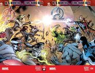 Avengers Vol 5 39 and New Avengers Vol 3 28