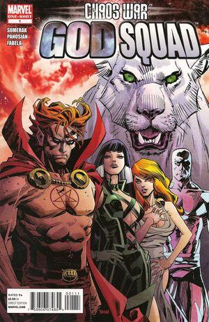 Chaos War God Squad Vol 1 1