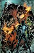 Eugene Thompson (Earth-616) and the Monsters of Evil (Earth-616) from Venom Vol 2 25 001