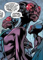 Hauk'ka from Uncanny X-Men Vol 1 455 002