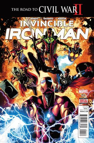Invincible Iron Man Vol 3 11