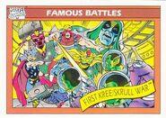 Kree-Skrull War (Earth-616) from Marvel Universe Cards Series I 0001