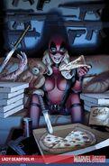 Lady Deadpool Vol 1 1 Textless