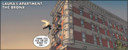 Laura Kinneys Apartment from All-New Wolverine Vol 1 2 001