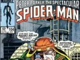 Peter Parker, The Spectacular Spider-Man Vol 1 104