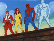 Shiro Yoshida (Earth-8107) and Spider-Friends (Earth-8107) from Spider-Man and His Amazing Friends Season 1 4 0001