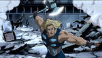 Thor Odinson (Earth-3488) from Ultimate Avengers The Movie 0001
