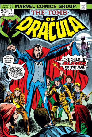 Tomb of Dracula Vol 1 7