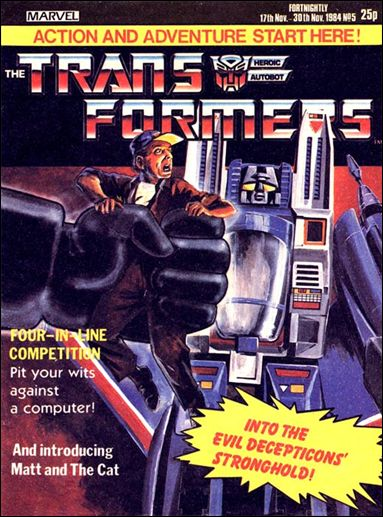 Transformers (UK) Vol 1 5