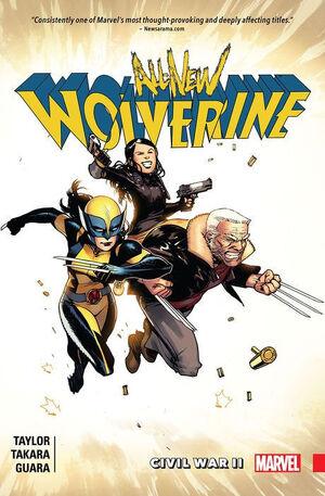 All-New Wolverine TPB Vol 1 2 Civil War II