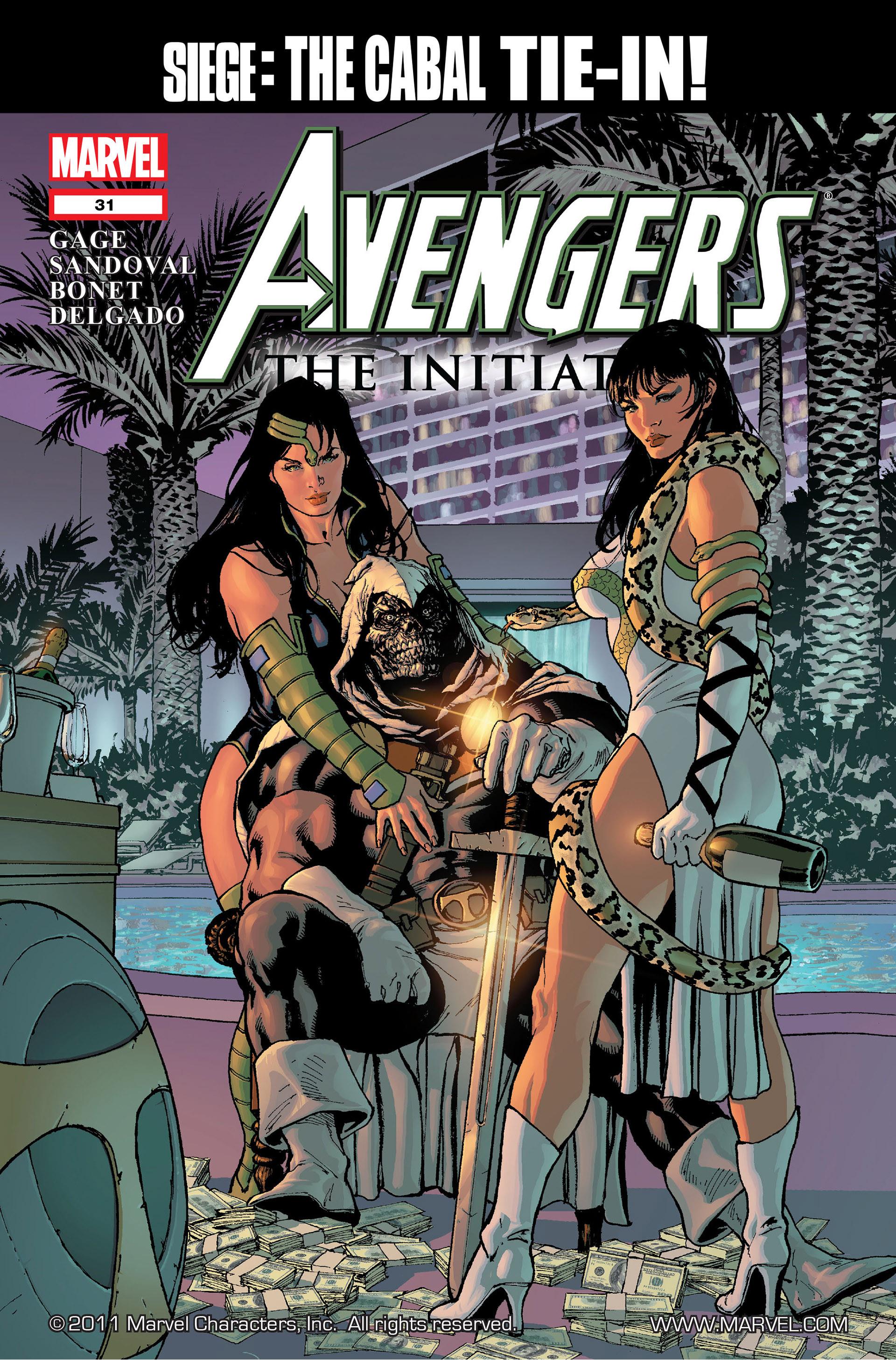 Avengers The Initiative Vol 1 31