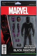 Black Panther World of Wakanda Vol 1 1 Action Figure Variant