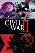 Civil War II Choosing Sides Vol 1 3 Textless