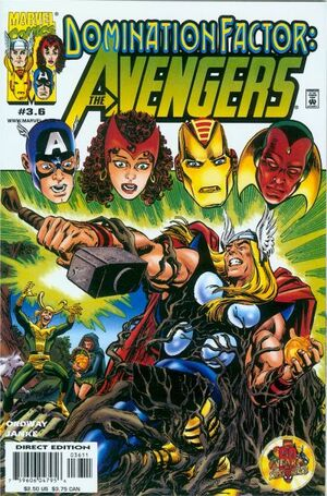 Domination Factor Avengers Vol 1 3.6