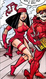 Elektra Natchios What If Daredevil Vs. Elektra Vol 1 1