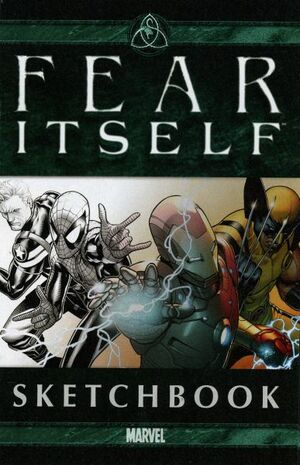 Fear Itself Sketchbook Vol 1 1