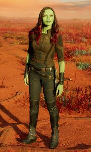 Gamora (Earth-199999) from Guardians of the Galaxy Vol. 2 (film) 0002