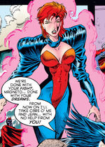Jean Grey (Earth-295) from X-Men Chronicles Vol 1 2 0001