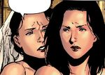 Katherine Bishop (Earth-616) and Susan Bishop (Earth-616) from Young Avengers Vol 1 1 001